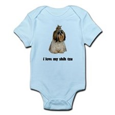 I Love My Shih Tzu Infant Bodysuit
