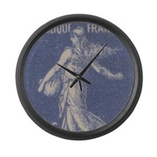 France 1932 10c Sower Large Wall Clock