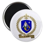 LESOURD Family Crest Magnet