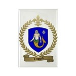 LESOURD Family Crest Rectangle Magnet