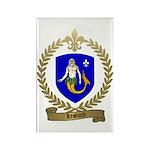 LESOURD Family Crest Rectangle Magnet (10 pack)