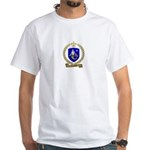 LESOURD Family Crest White T-Shirt