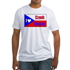 I love Czech Hockey Shirt