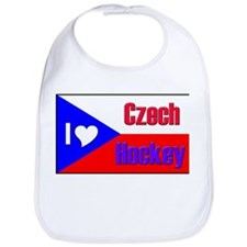 I love Czech Hockey Bib