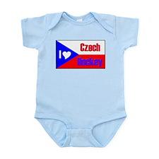 I love Czech Hockey Infant Creeper