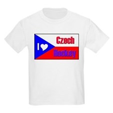 I love Czech Hockey Kids T-Shirt