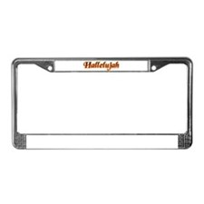 Hallelujah License Plate Frame