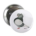 "Domestic Flight Silver Cap 2.25"" Button (10 p"