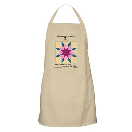 Always Trust a Quilter BBQ Apron