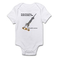 Peedee belemnite Infant Bodysuit