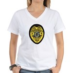 Castle Rock Police Women's V-Neck T-Shirt