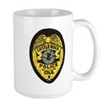 Castle Rock Police Large Mug