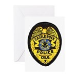 Castle Rock Police Greeting Cards (Pk of 10)