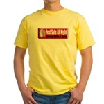 Feel Safe Yellow T-Shirt