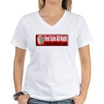 Feel Safe Women's V-Neck T-Shirt