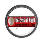 Feel Safe Wall Clock