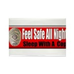 Feel Safe Rectangle Magnet (100 pack)