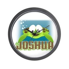 Adorable Joshua Turtle Wall Clock