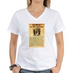 O K Corral Women's V-Neck T-Shirt