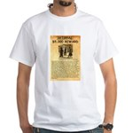 O K Corral White T-Shirt