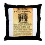 O K Corral Throw Pillow