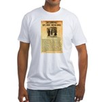 O K Corral Fitted T-Shirt
