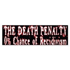 Death Penalty Bumper Sticker (10 pk)
