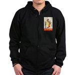 Shrine Clowns Zip Hoodie (dark)