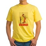 Shrine Clowns Yellow T-Shirt