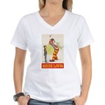 Shrine Clowns Women's V-Neck T-Shirt
