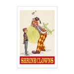 Shrine Clowns Mini Poster Print