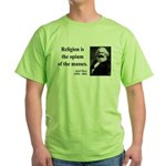 Karl Marx 1 Green T-Shirt