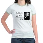 Karl Marx 1 Jr. Ringer T-Shirt