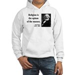 Karl Marx 1 Hooded Sweatshirt