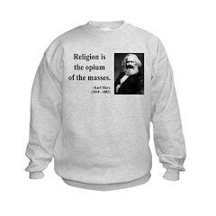 Karl Marx 1 Kids Sweatshirt