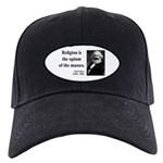 Karl Marx 1 Black Cap