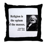 Karl Marx 1 Throw Pillow
