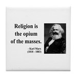 Karl Marx 1 Tile Coaster
