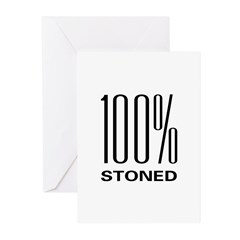100% Stoned Greeting Cards (Pk of 20)