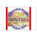 Montana-3 Large Poster