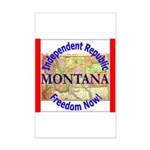 Montana-3 Mini Poster Print