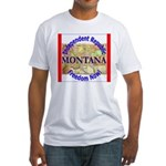 Montana-3 Fitted T-Shirt