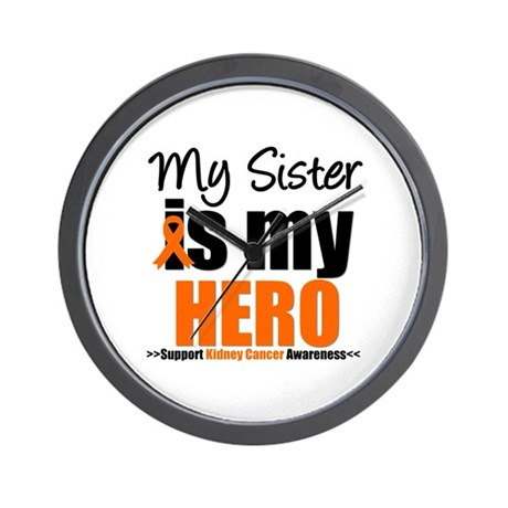 KidneyCancerHero Sister Wall Clock