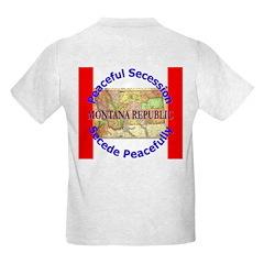 Montana-1 Kids Light T-Shirt