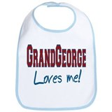 GRANDFATHER GEORGE Bib
