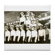 Eastern Airlines Stewards Tile Coaster