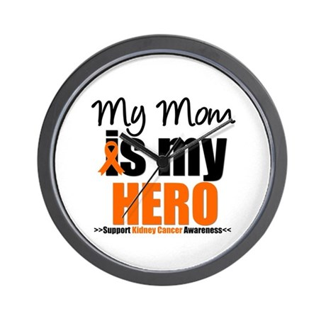 KidneyCancerHero Mom Wall Clock