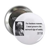 "Mark Twain 26 2.25"" Button (100 pack)"