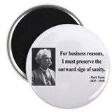 Mark Twain 26 Magnet