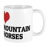 I Love Kentucky Mountain Sadd Small Mug